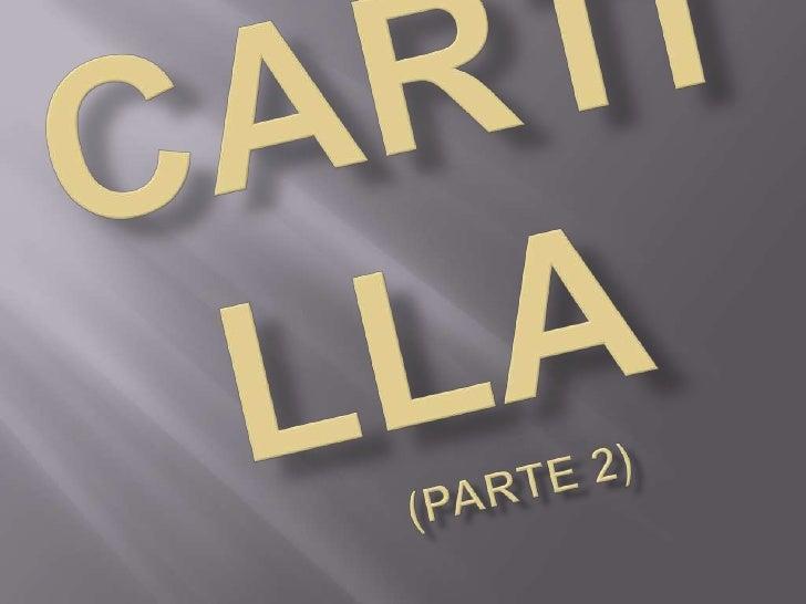 Cartilla Part 2