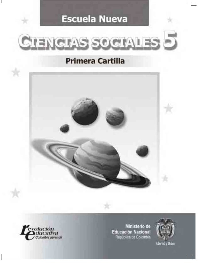 Cartilla sociales 5° parte 1