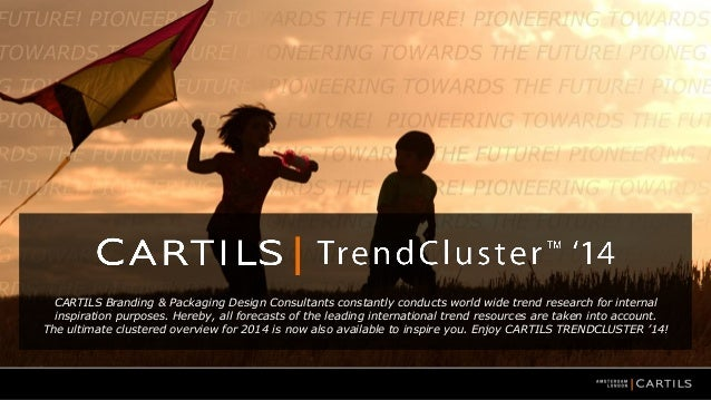 CARTILS Branding & Packaging Design Consultants constantly conducts world wide trend research for internal inspiration pur...