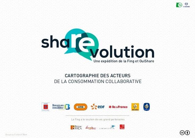 Une expédition de la Fing et OuiShare cartographie des acteurs de la consommation collaborative Design by Collectif Bam La...