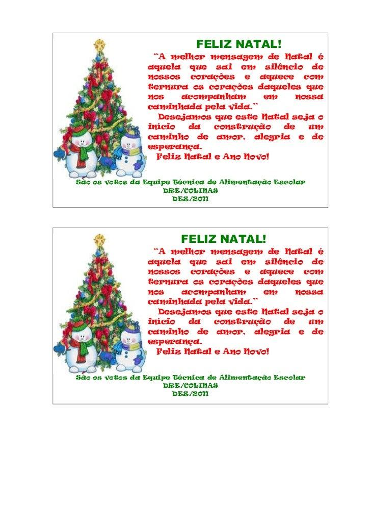 Cartão de natal 2011