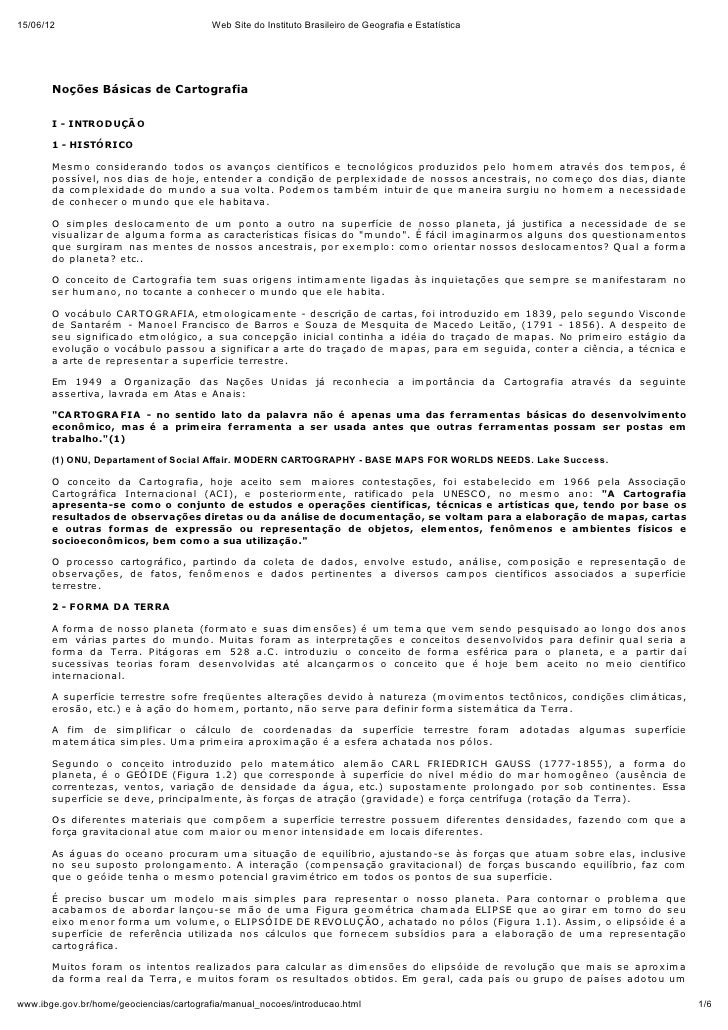 15/06/12                                 Web Site do Instituto Brasileiro de Geografia e Estatística       Noções Básicas ...