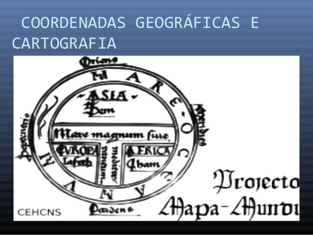 COORDENADAS GEOGRÁFICAS E CARTOGRAFIA