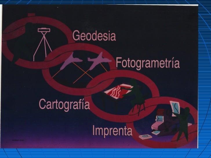 Geodesia es la ciencia que determina el tamaño y forma de la tierra,            incluyendo su campo gravitacional.        ...