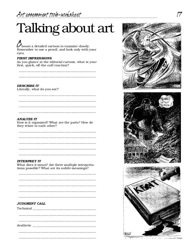 Interpreting Political Cartoons Worksheet : Cartoon handbookدليل تحليل رسوم الكرتون