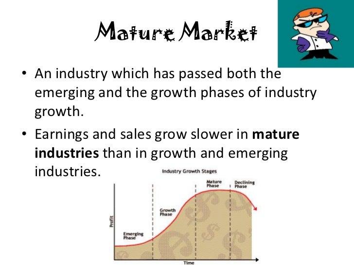 Mature Market 110