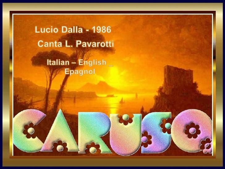 Caruso...l.dalla pavarotti