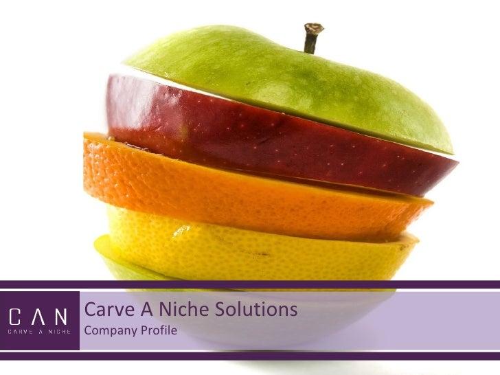 Carveaniche can presentation