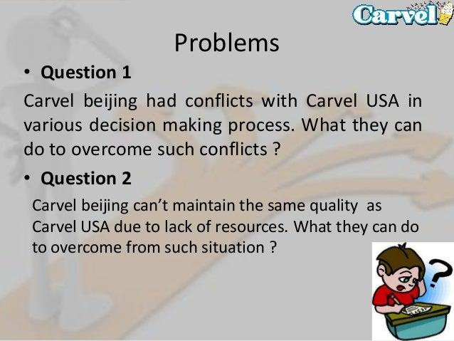 CARVEL ICE CREAM-DEVELOPING THE BEIJING MARKET Harvard Case Solution & Analysis
