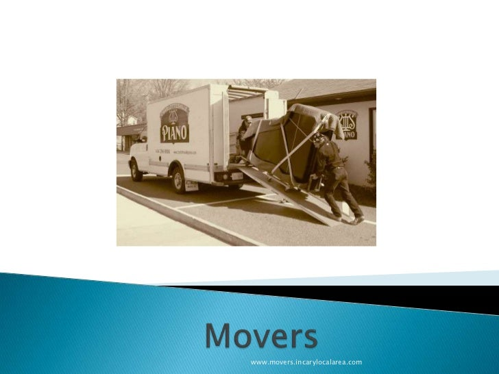 Movers<br />www.movers.incarylocalarea.com<br />