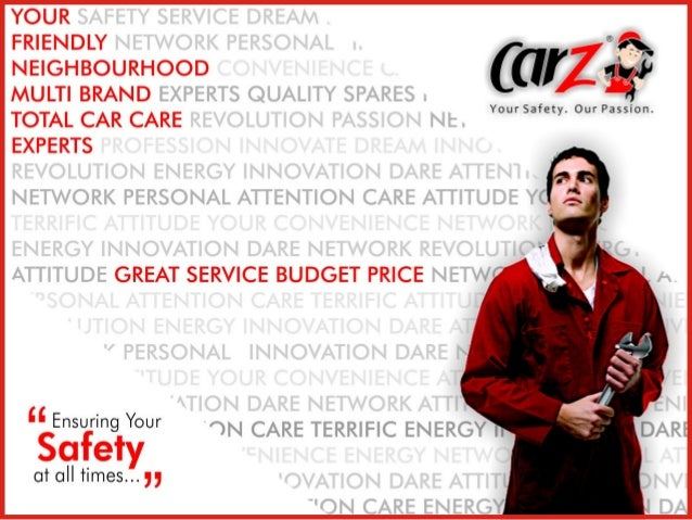 CarZ : Vision and MissionVISION : Establish CarZ as India's premier service company, with exclusive focus               on...