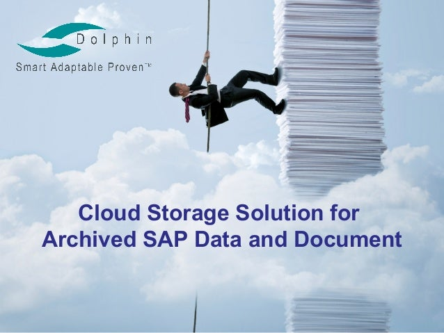 Cloud Storage Solution forArchived SAP Data and Document