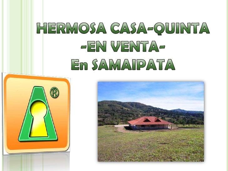 CASA-QUINTA en SAMAIPATA