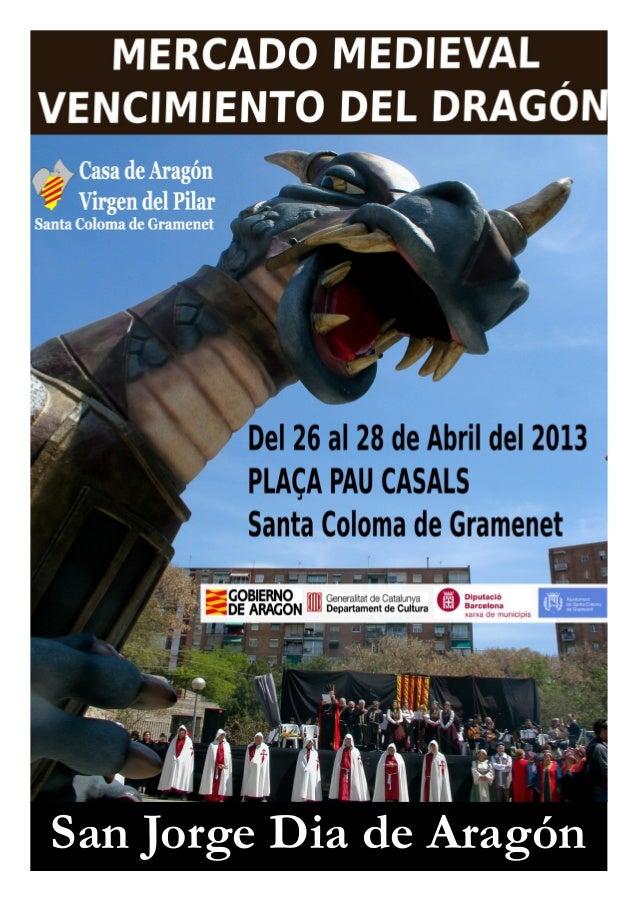 San Jorge Dia de Aragón