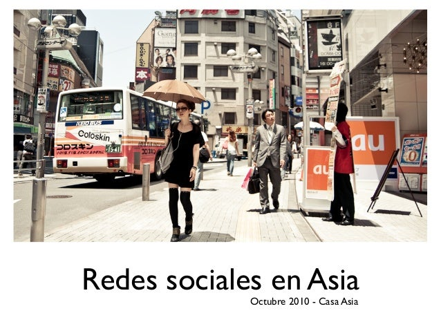 Redes sociales en Asia 2010