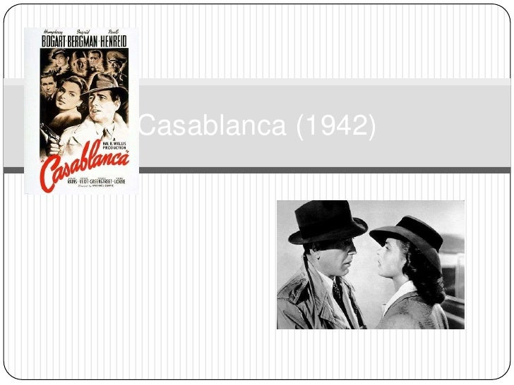 Casablanca (1942)<br />