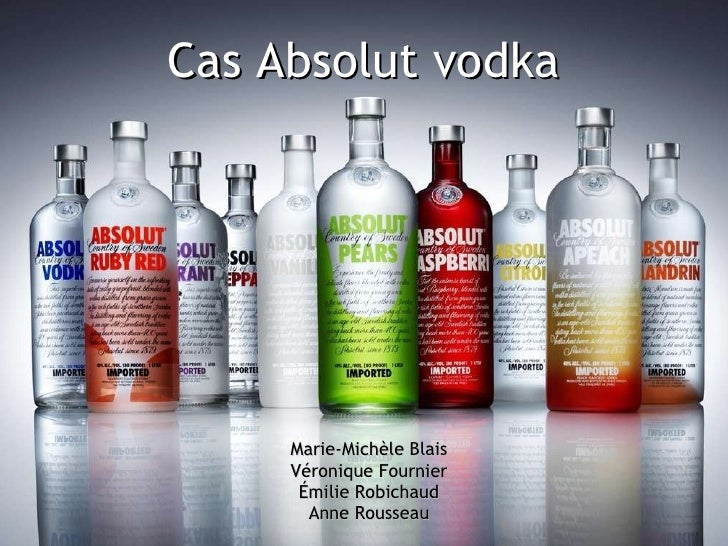 Cas Absolut vodka Marie-Michèle Blais Véronique Fournier Émilie Robichaud Anne Rousseau