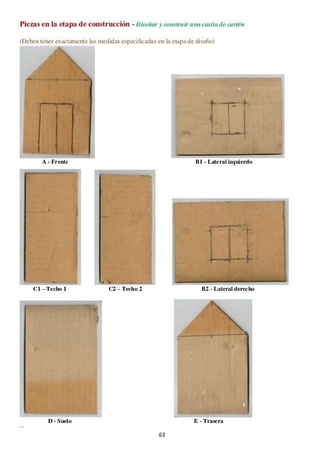 Casa carton proyecto de tecnolog a con materiales - Como se hace una casa de madera ...