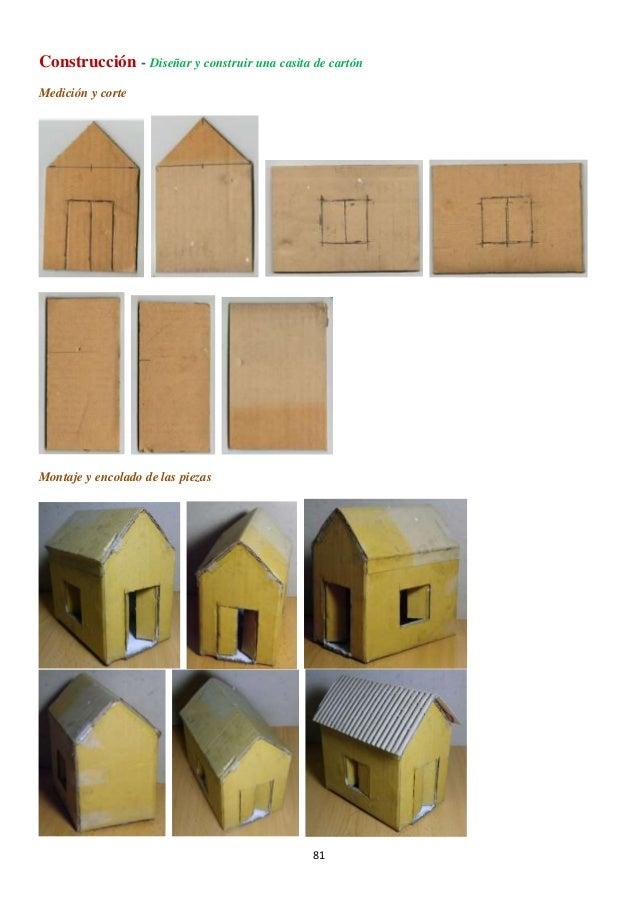 Casa carton proyecto de tecnolog a con materiales derivados de la m - Como hacer una casa de carton pequena ...