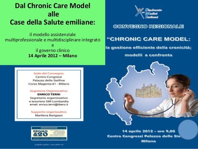 Dal Chronic Care Model                        alle     Case della Salute emiliane:                ...