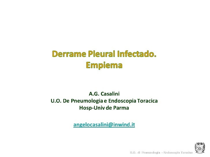 U.O. di Pneumologia - Endoscopia Toracica