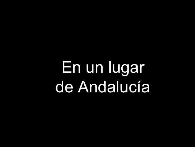 En un lugarde Andalucía