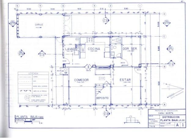 Casa quinta harry osers for Como leer planos arquitectonicos pdf