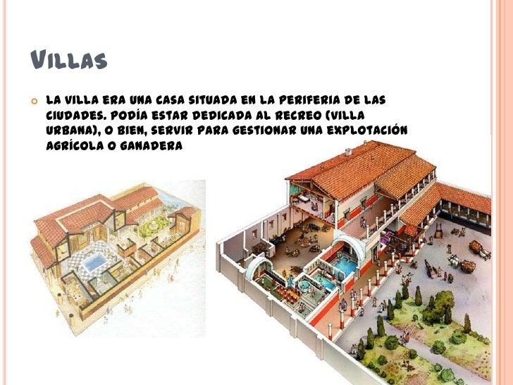 Casas romanas for Villas romanas