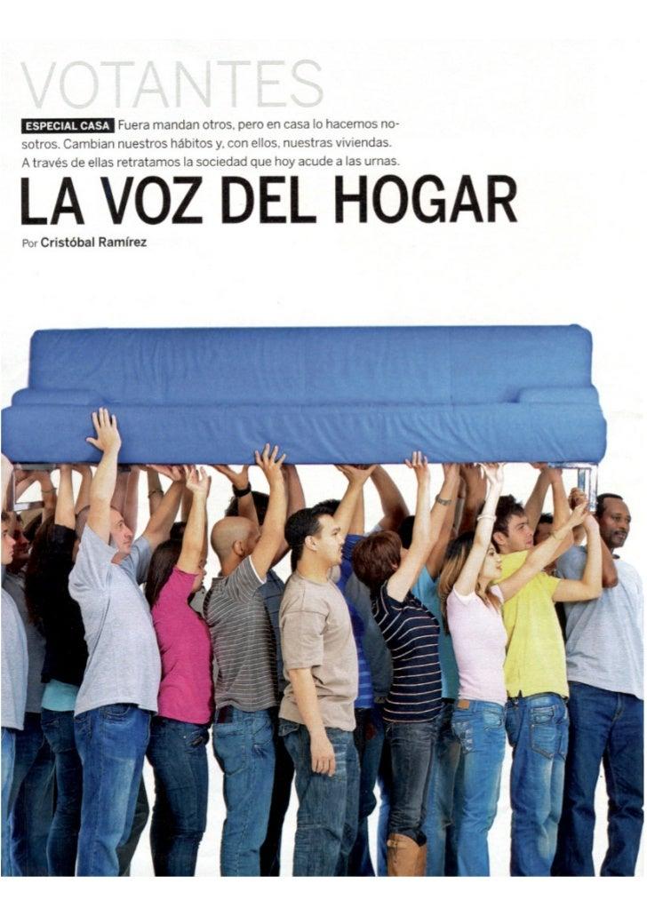 Casa votantes - El País Semanal - mayo 2011