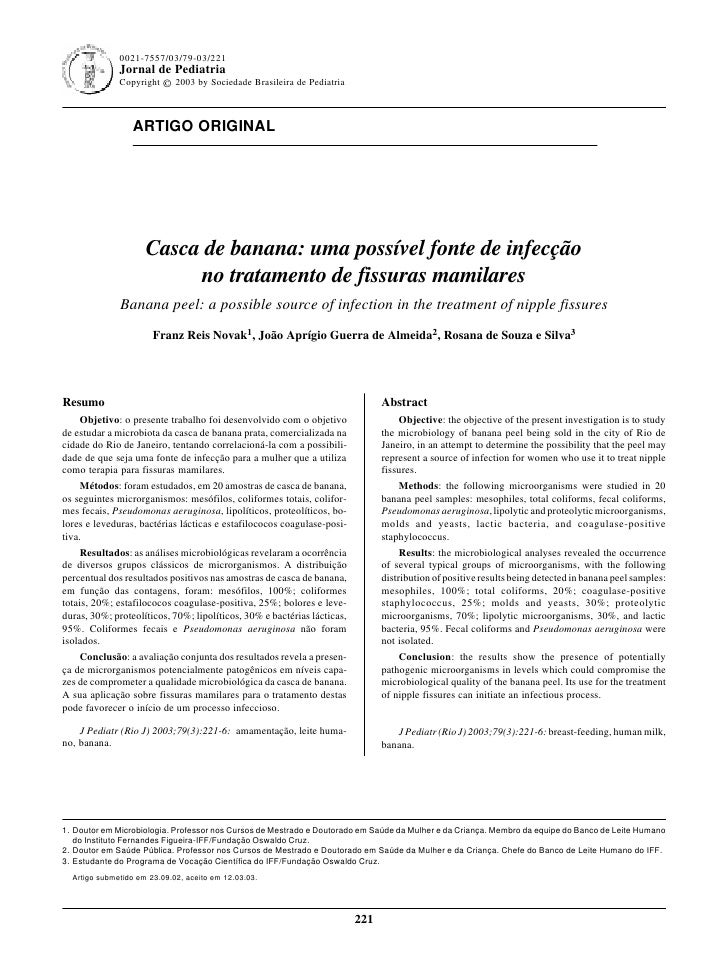0021-7557/03/79-03/221                                                               Jornal de Pediatria - Vol. 79, Nº3, 2...
