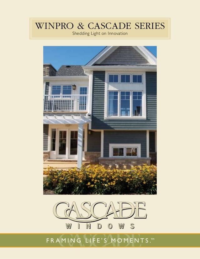 Cascade Window WinPro Brochure