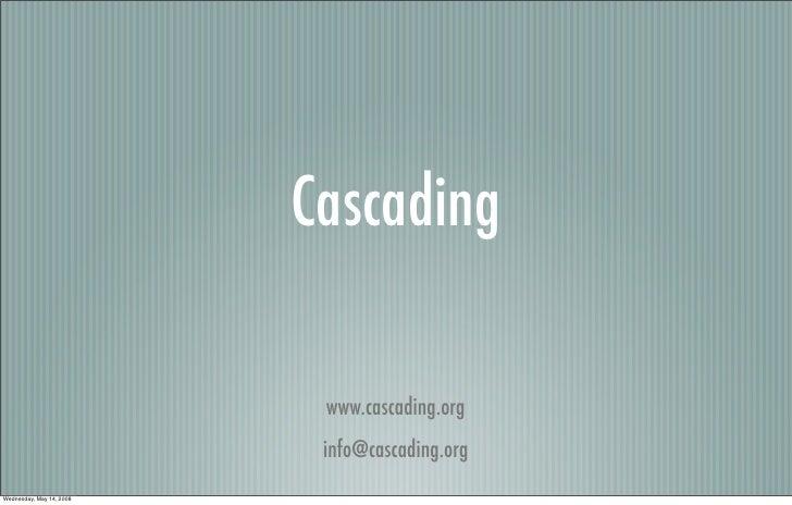 Cascading[1]
