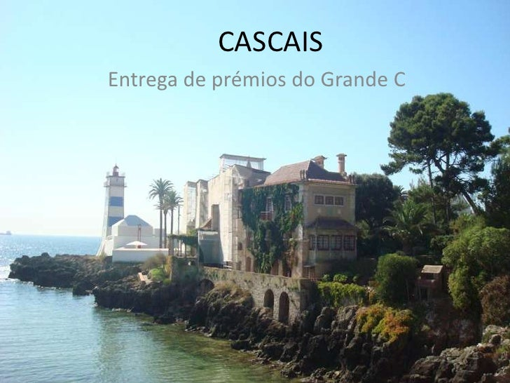 CASCAIS<br />Entrega de prémios do Grande C<br />
