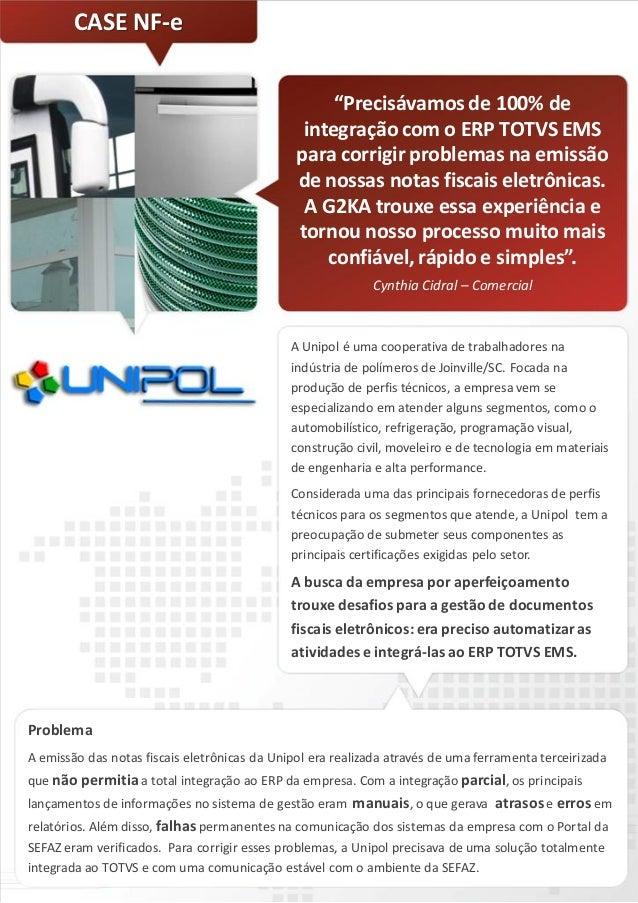(Case de Sucesso) - Unipol - NF-e - Emissao e gestao de notas fiscais de servico eletronicas