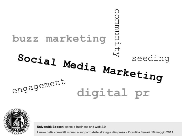 Social Media Marketing @ Bocconi