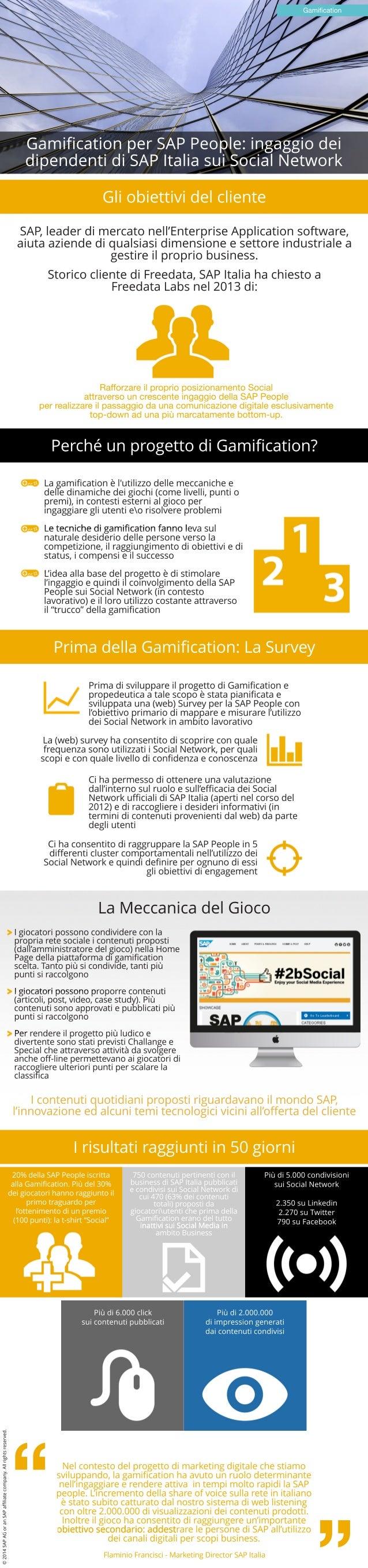 GamificationperSAPPeople:ingaggiodei dipendentidiSAPItaliasuiSocialNetwork Gamification RafforzareilproprioposizionamentoS...