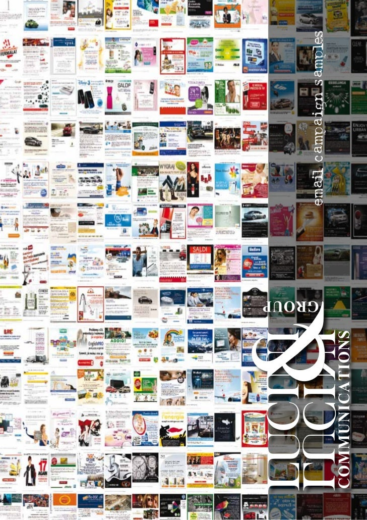 Lucini & Lucini Communications - Case Study Direct E-Mail Marketing Campaigns WorldWide