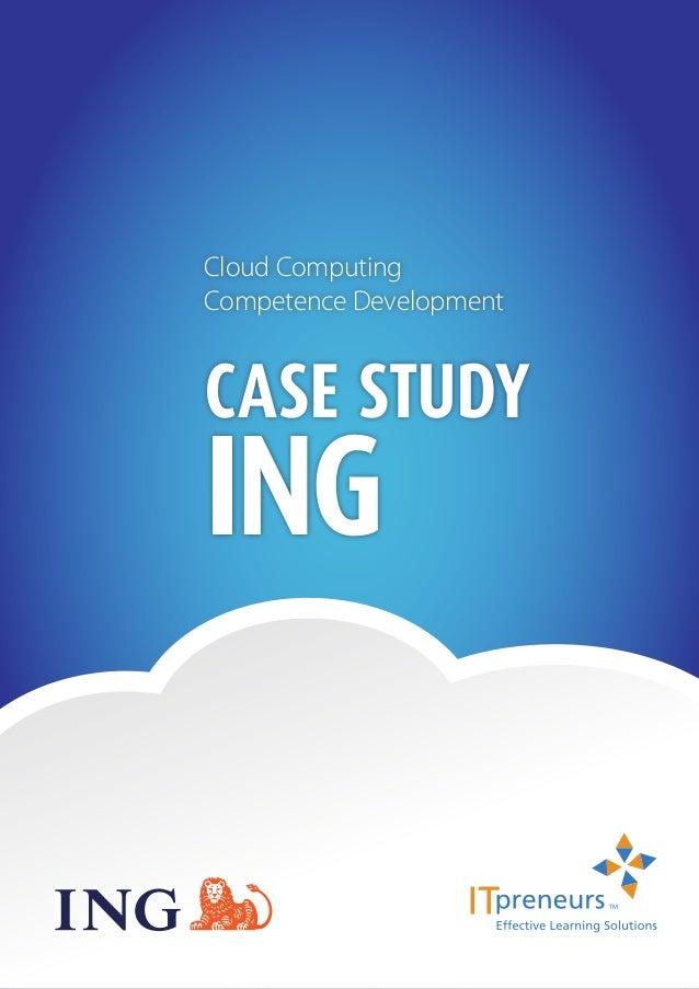 1Cloud ComputingCompetence DevelopmentCase StudyING