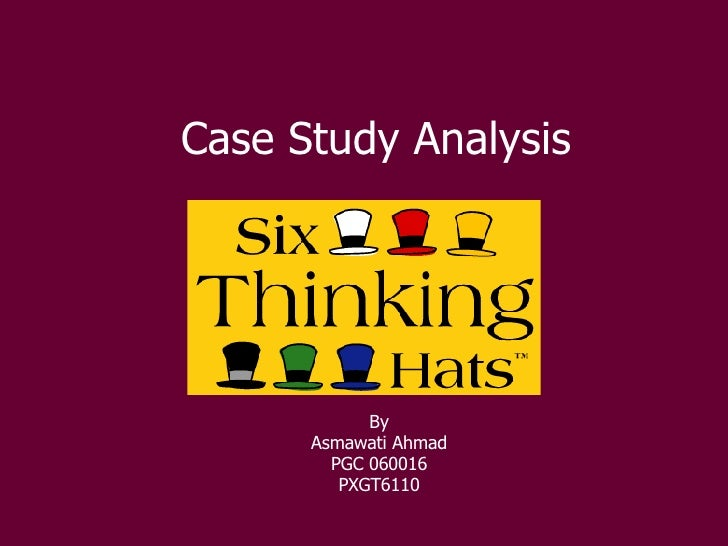Case Study Analysis By Asmawati Ahmad PGC 060016 PXGT6110