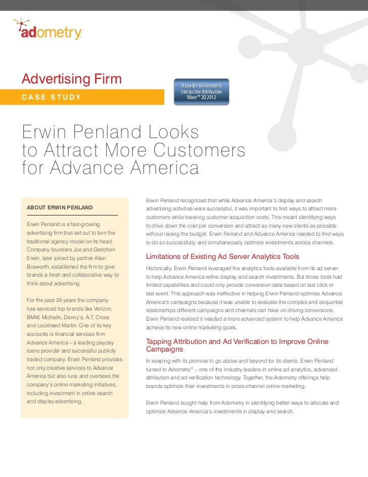 Advertising Firm                                           A Leader in Forrester's                                        ...