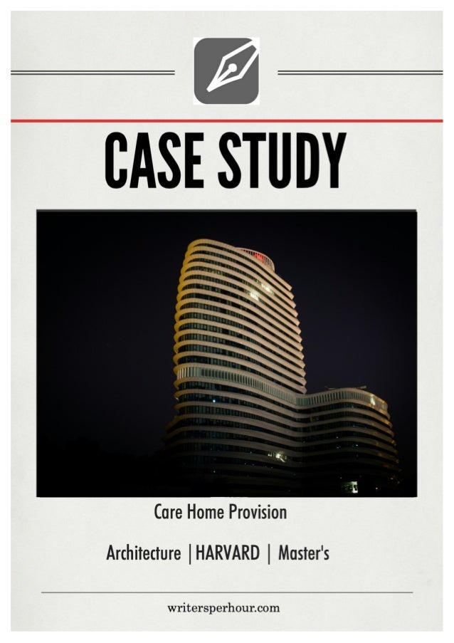 Case study writers presentation example