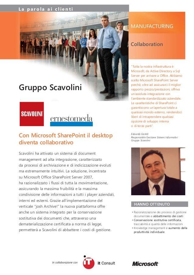 Case Study Scavolini