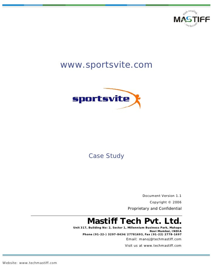 Case Study Sportsvite