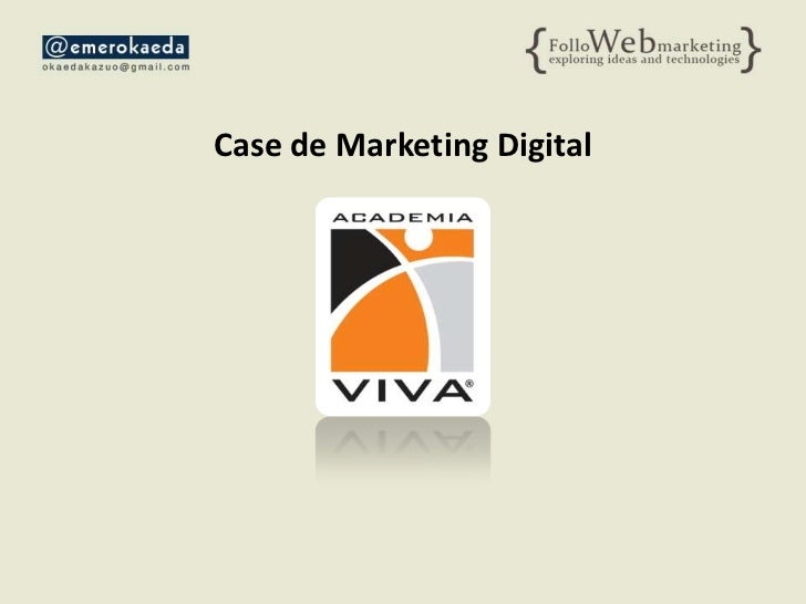 Case de Marketing Digital<br />