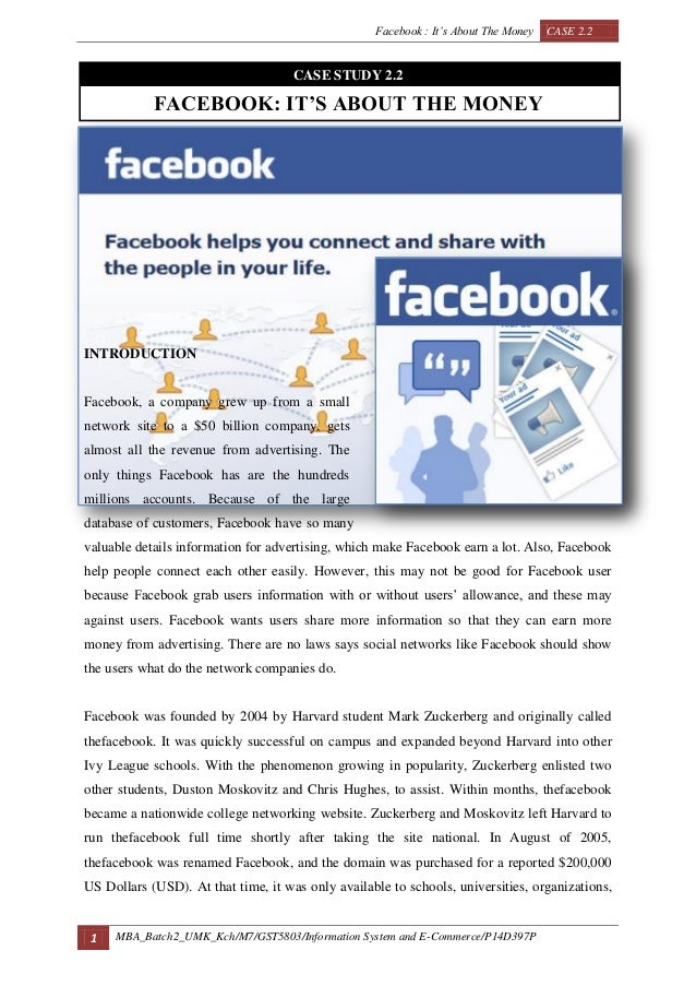 facebook its about the money Facebook's data scandal is the perfect example of this social media behemoth prioritizing growth and its subsequent billions of dollars over security and privacy.