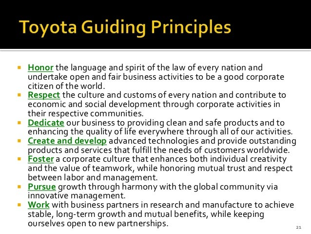 automobile and toyota company essay The toyota motor company and toyota motor sales merged into one (starting 1998), formerly toyota vista store (starting 1980), formerly toyota auto store.