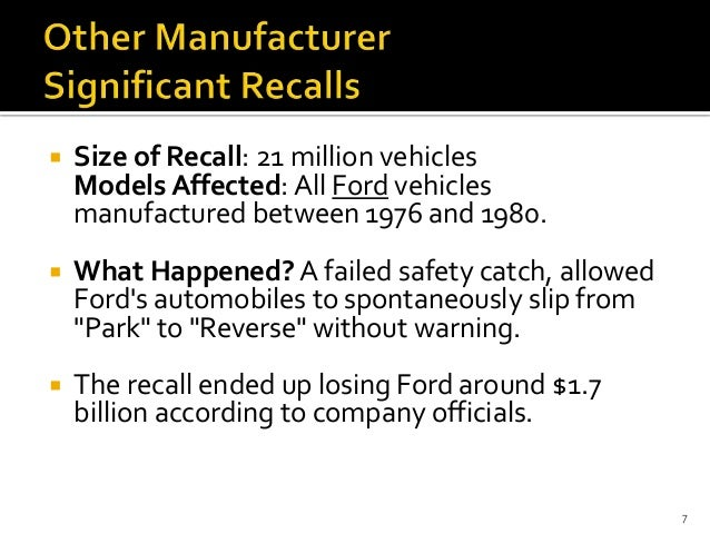 toyota recall case The toyota recall crisis started with a single, horrifying car crash in southern california last august and this week,  in the worst case,.