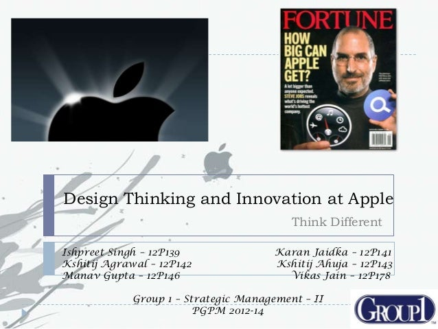 case 3 strategic leadership and innovation at apple inc The case provides a history of the apple computer company and its key product   marketing principles, marketing strategy, strategic management, and corporate   apple, inc stands for innovation in personal computing and digital media   exhibit 3: industry growth estimates by product line 2008-2010 (in millions of.