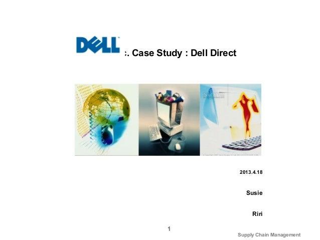 Dell Direct Case Study