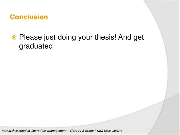 Operation And Management Phd Thesis